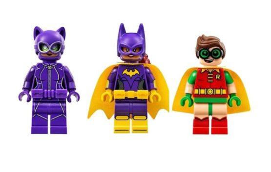 LEPIN Bat Hero Catwoman Catcycle Chase Building Blocks Set