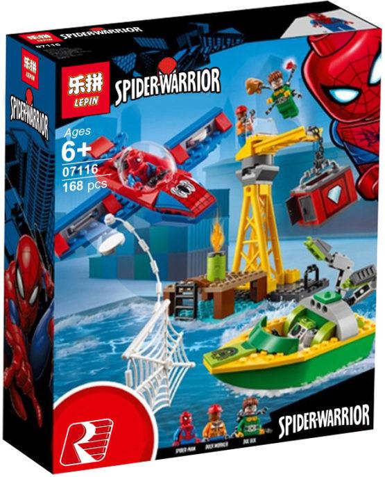 LEPIN Spider-Warrior Set