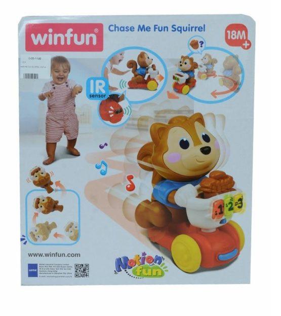 Winfun Chase Me Fun Squirrel - 1