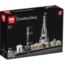 LEPIN Construction Architecture Paris Building Blocks Set