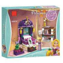 LEPIN FairyTale Rapunzel Princess Bedroom Building Blocks Set