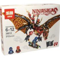 LEPIN NinjaSaga Dragons Attack Set Blocks