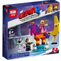 LEPIN Acquaintance With Beautiful Queen Set Blocks