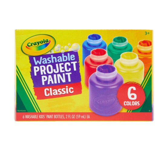 Crayola Washable Paint 18 Count