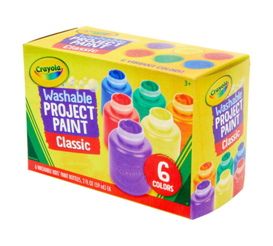 Crayola Washable Paint 6 Count