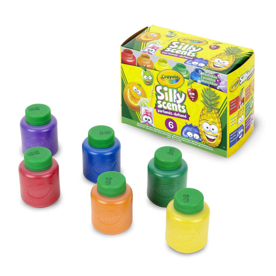 Crayola Washable Silly Scents Sweet Scents Paints 6 Pack