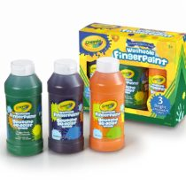 Crayola Washable Bold Fingerpaint 3 Colors