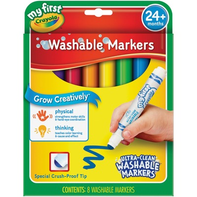 Crayola My First Ultra Clean Washable Markers Set