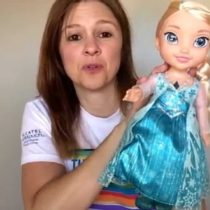 Barbie Disney Princess Frozen Singing Elsa