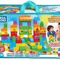 Mega Bloks Let's Get Learning Bricks Bag