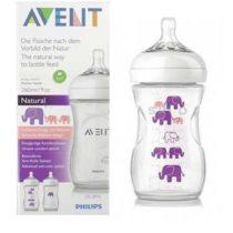 Philips Avent Natural Elephant Design Set 260ML