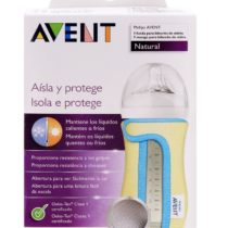 Philips Avent Glass Bottle Sleeve 240ml- Color May Vary