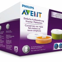 Philips Avent Baby Food Reusable Storage 2 Pots