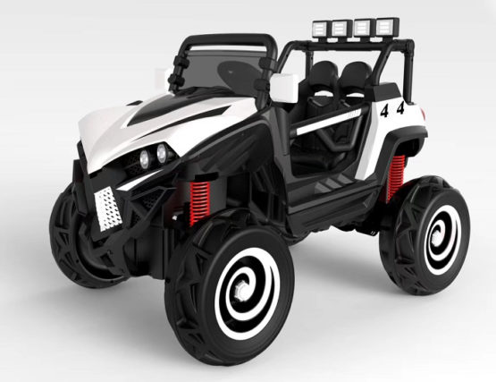 2 Seater Off Road Rideon Jeep Remote Control - 4