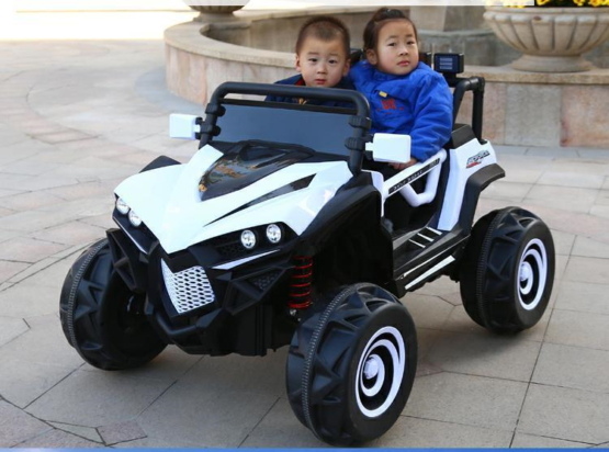 2 Seater Off Road Rideon Jeep Remote Control - 1