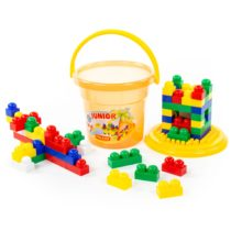 Polisie Construction Set Junior – 57 PCS