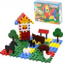 Polisie Construction Set Farmer – 112 PCS (box)
