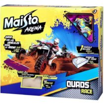 Maisto Tavitoys Pista Arena Quad Race – Color & Style May Vary