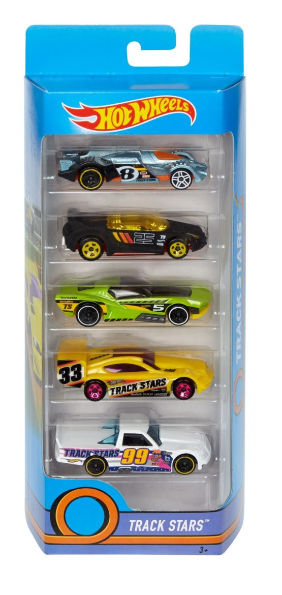 Hot Wheels 5 Cars Pack - Color & Style May Vary - Price of 1 Pack