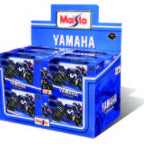 Yamaha Moto GP Vinales 1:18 Scale – Color and Style May Vary