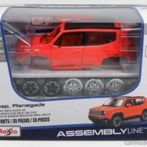 Maisto Assembly Line Jeep Renegade Diecast Model