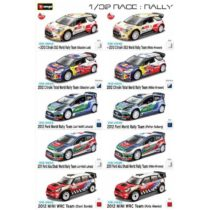Burago Diecast Rally Cars 1:32 Scale – Color & Style May Vary
