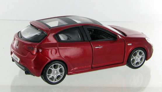 Burago Diecast Abarth Grande Punto 1:32 Scale - Color & Style May Vary