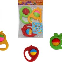 Polesie Rattle Fruits Set