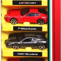 Bburago Set of 5 Ferrari 3 inch – Color & Style May Vary