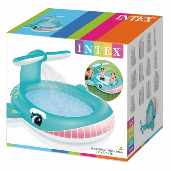 Intex Balloon inflatable pool with sprinkler