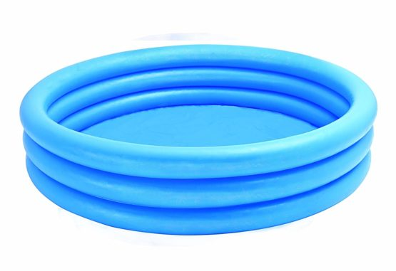 """""""• Brand: Intex • Material: Vinyl Fabric • Age: 3+ year • Size: 58 x 13 inch • Water capacity 335 L • Rings are 8 gauge """""""