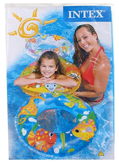 Intex 24″ Inflatable Transparent Ring Swim Tube