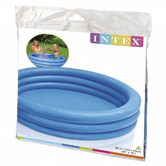 Intex Crystal Blue Inflatable Pool