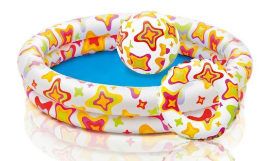 Intex Stargaze Pool Set With Ball and Ring - Color May Vary