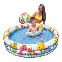 Intex Fishbowl Pool Set With Ball and Ring – Color May Vary