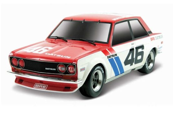 Maisto Remote Control 1971 Datsun 510 Race Car – Colors May Vary