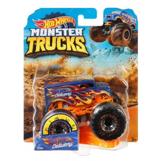 Hot Wheels Monster Trucks – Color & Style May Vary