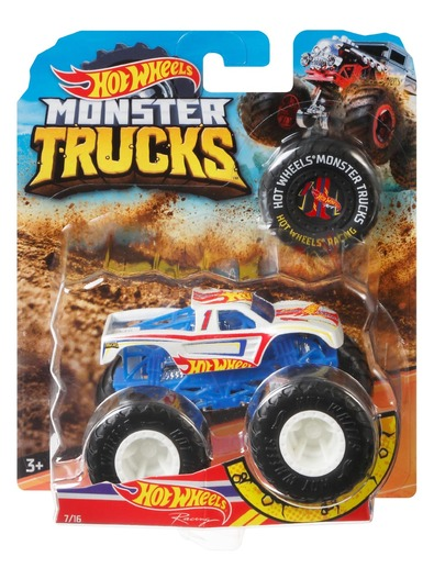 Hot Wheels Monster Trucks - Color & Style May Vary - Price of 1 Pack