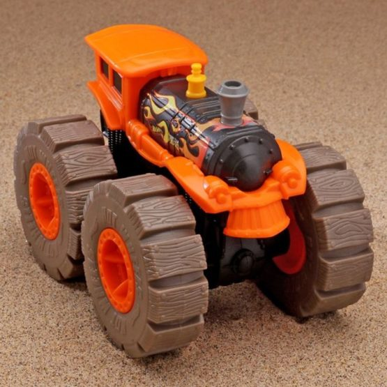 Hot Wheels Monster Trucks Wrecking Wheels - Color & Style May Vary