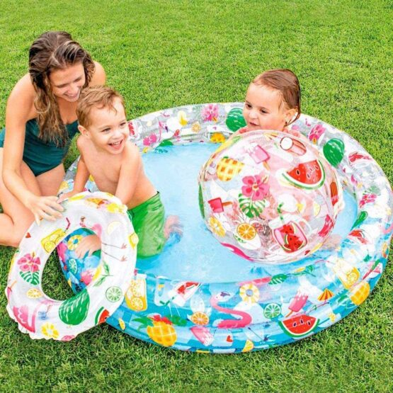 Intex Just So Fruity Pool with Ball & Ring