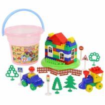 Polesie Construction set Builder – 77 Pcs (Bucket Maxi)