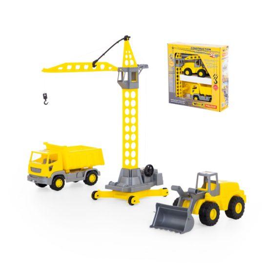 Polesie Construction Machinery Set