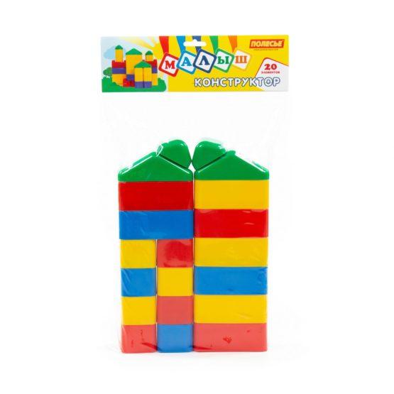 Polesie Baby Blocks, 12 Pcs (Bag)