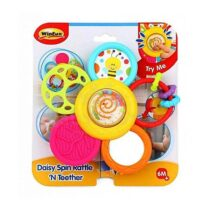 Winfun Daisy Spin Rattle N Teether