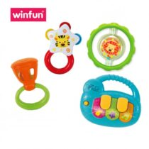 Winfun 3 Rattles With Mini Piano