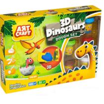 DeDe Art Craft 3D Dinosaurs Dough Set