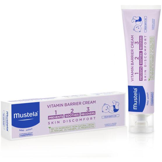 Mustela Vitamin Barrier Cream Complete Skincare For Nappy Area 50ml