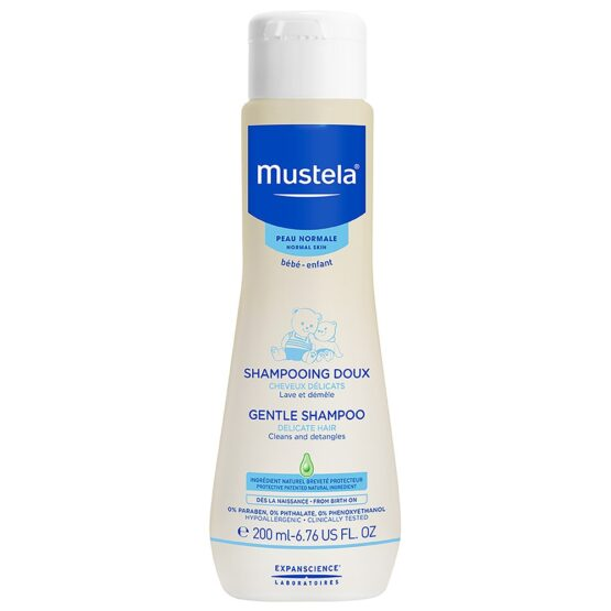 Mustela Gentle Shampoo for Normal Skin 200ml
