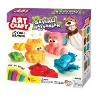 DeDe Art Craft 3D Cute Animals Dough Set