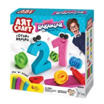 DeDe 3D Number Dough Set